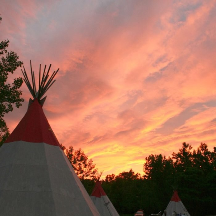 Go Teepee Camping In Connecticut At Bear Creek Campground