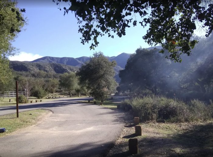 Summer Hiking And Camping At Dripping Springs In Southern