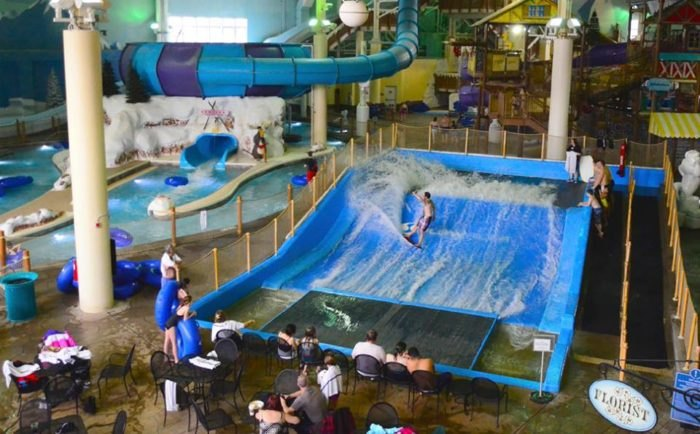 Avalanche Bay Waterpark Has Best 900-Foot Lazy River In Michigan