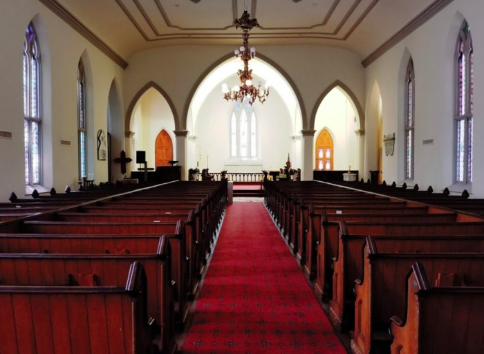 Grace Episcopal Church In Louisiana Is Both Historical And Heavenly