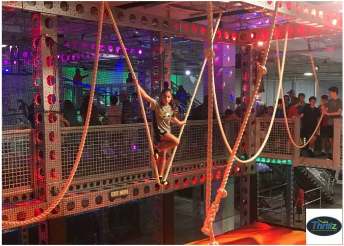 Thrillz The One Of A Kind High Flying Adventure Park In