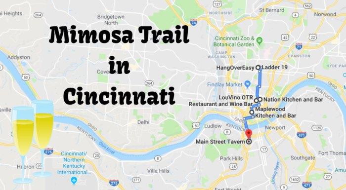 Enjoy Brunch Along This Memorable Mimosa Trail In Cincinnati