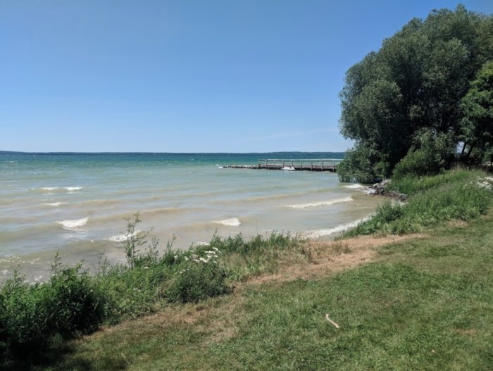 Aloha State Park Is Best Inland Lake Campground In Michigan