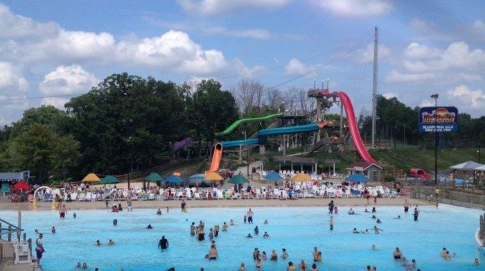 Cool Off At The Beach Waterpark Near Cincinnati Ohio