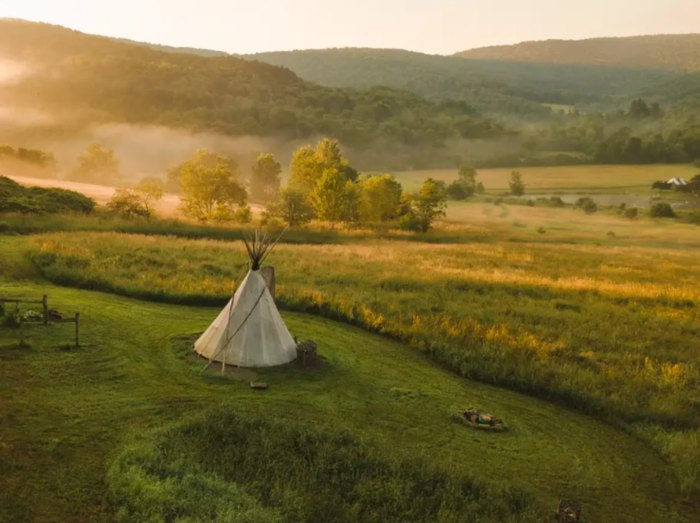 Mystic Lodge Has Best Underrated Tipi In New York