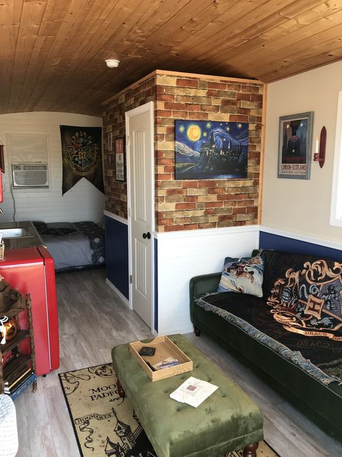 Harry Potter Themed Tiny House Airbnb In Buda Texas