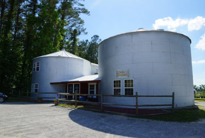 This Grain Silos Restaurant In North Carolina Has Great