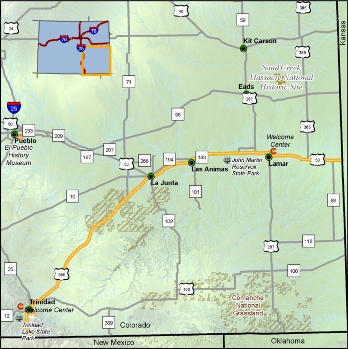 The Santa Fe Trail In Colorado Is A Hidden Gem Byway