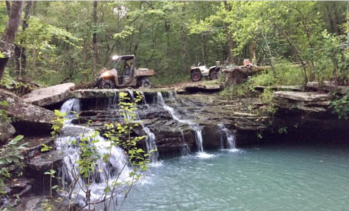 Mulberry Mountain Lodge's Campground In Arkansas Has ...