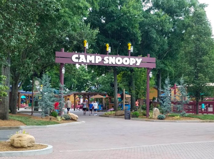 Carowinds Camp Snoopy - A Miniature Amusement Park In South