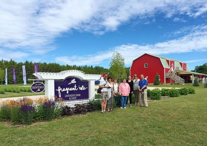 Fragrant Isle: One Of Wisconsin's Biggest Lavender Farms