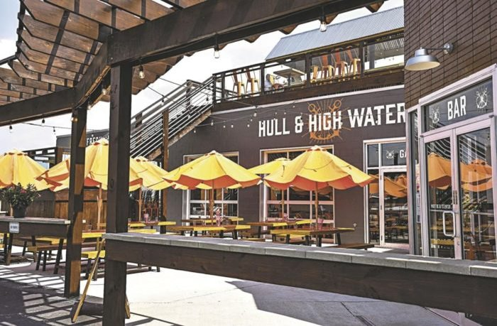 Hull High Water In New Albany Indiana Is A Nautical