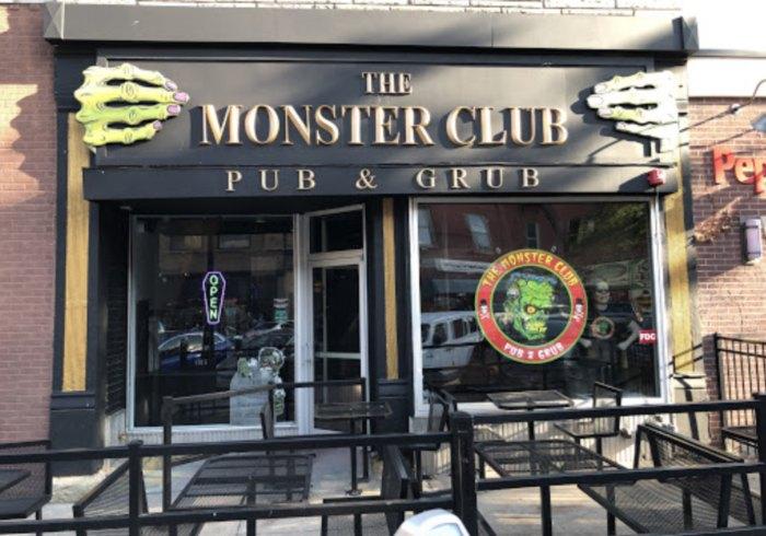 Monster Club Pub Grub Is A Horror Themed Restaurant In