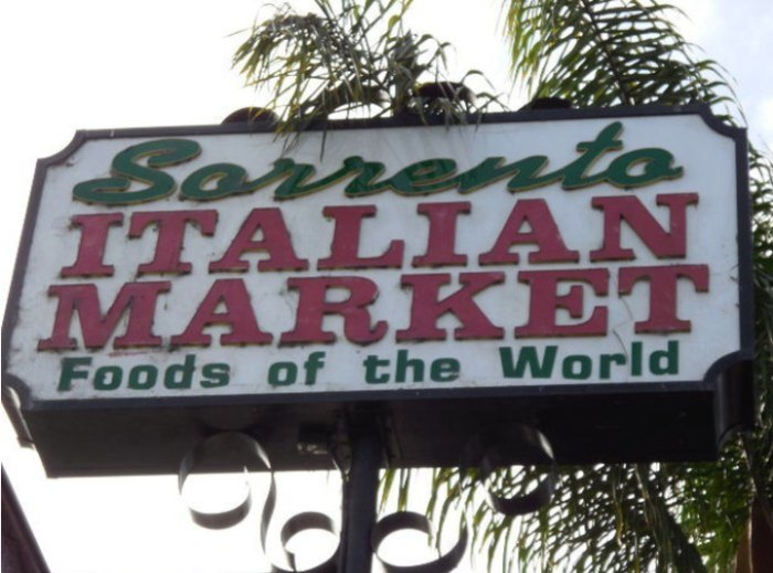 Sorrento Italian Market In Southern California Has Tons Of