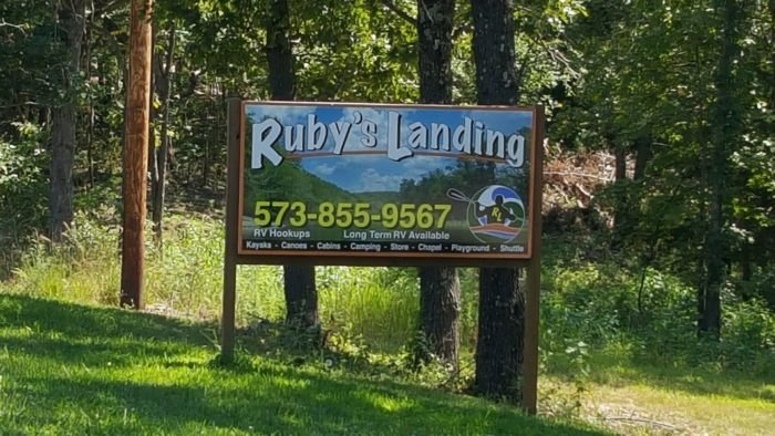 Journey Down The River With Ruby S Landing On A Haunted