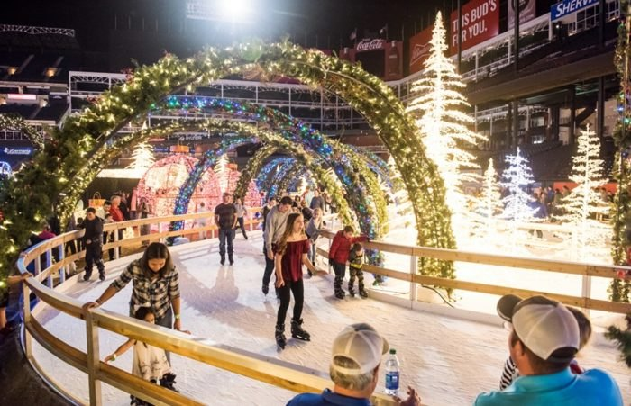 Try The Ice Skating Christmas Light Trail In Florida This Year