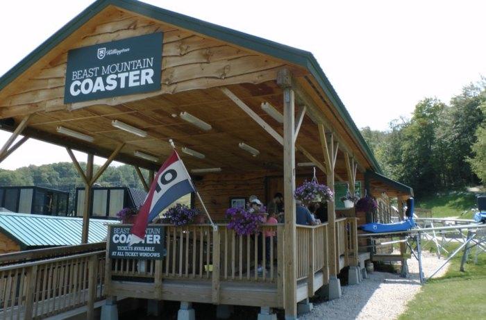 You'll find the Beast Mountain Coaster at Killington Resort.