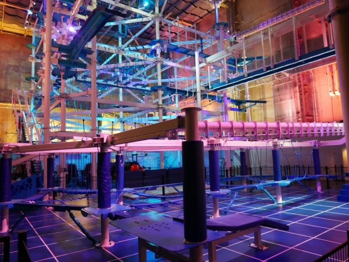 IT Adventure In Connecticut Is The World's Largest Indoor Ropes Course
