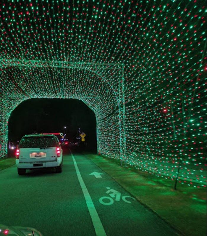 Drive Thru 2 Million Lights At The Great Christmas Light