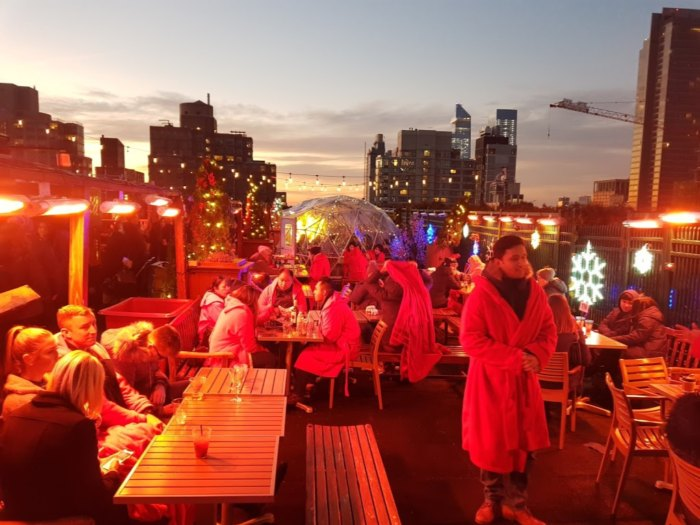 230 Fifth Has The Best Rooftop Igloo Bar In New York