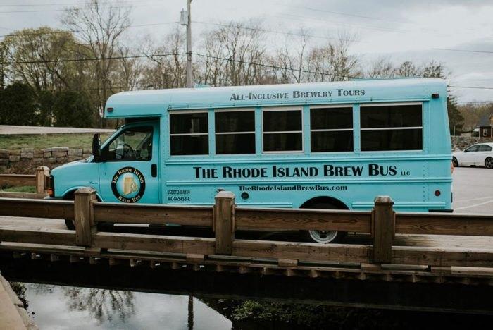 Alfred Visits Rhode Island