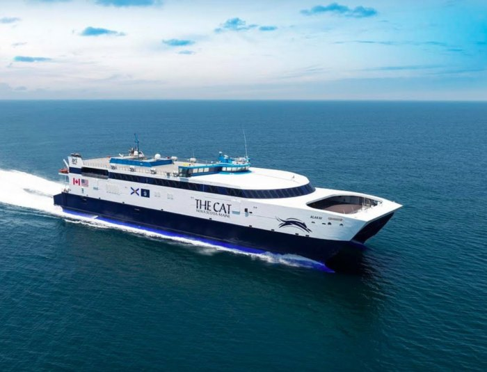 You'll Be Able To Travel From Maine To Canada On This Fast Ferry Starting This Summer