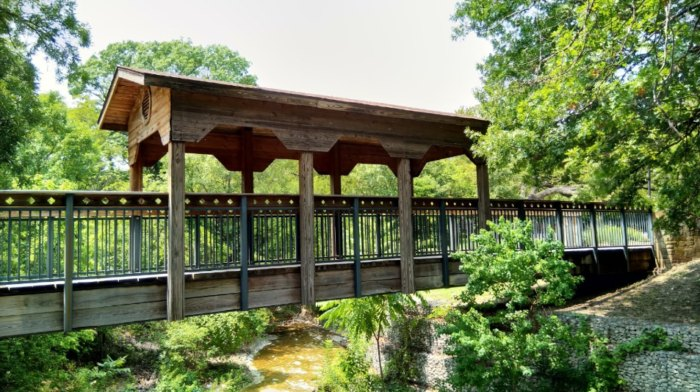 Visit The Waterfall At Prairie Creek Park In Richardson, Texas