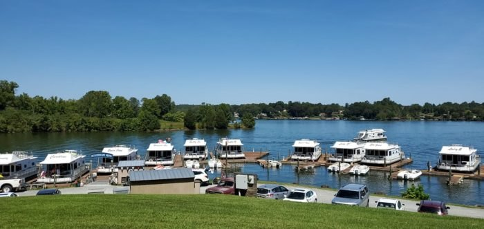 Parrot Cove Offers Houseboat Rentals On Smith Mountain Lake