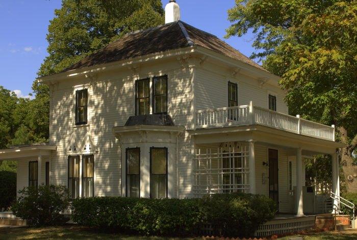 Eisenhower's childhood home.