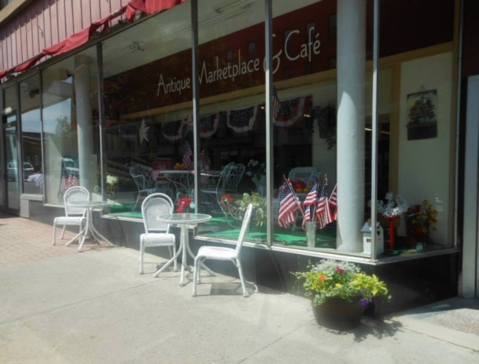 Come For The Antiques And Stay For The Cafe At This Unique Shopping Experience In Maine