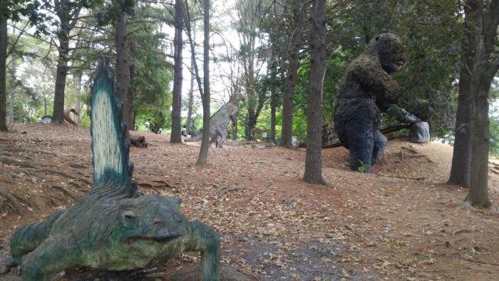 Dinosaurs at Dinosaur Land