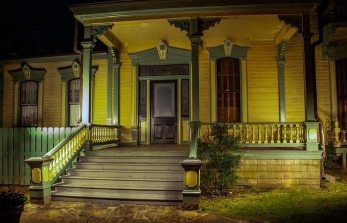Clayton House at Night Arkansas