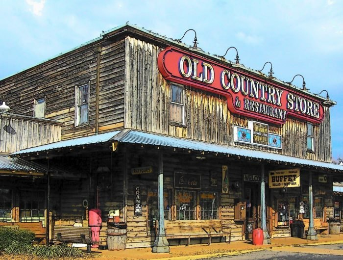 Brooks Shaw's Old Country Store Is A 1960s Diner In Tennessee