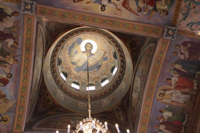 St. Theodosius Othodox Church Dome Interior Ohio