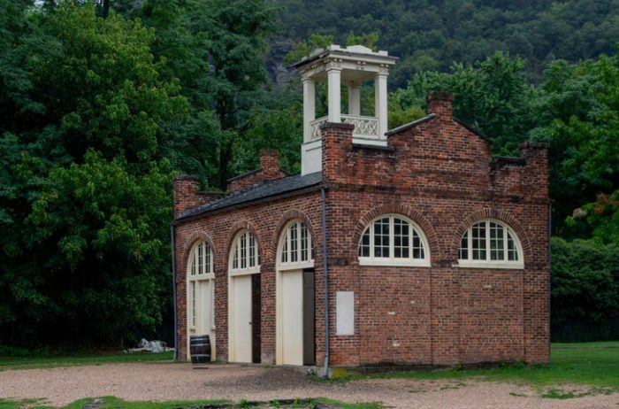 Harpers Ferry John Brown's Fort West Virginia