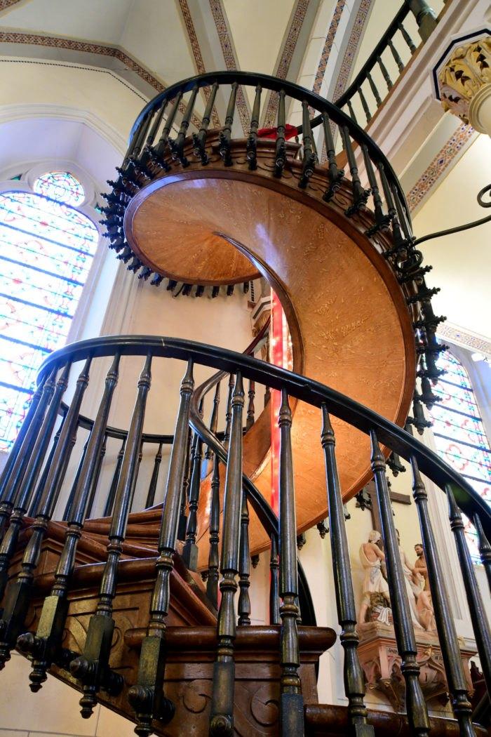 Loretto Chapel Miraculous Staircase New Mexico