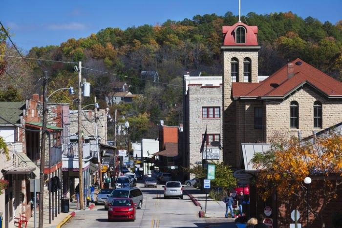 Eureka Springs Main Street Arkansas