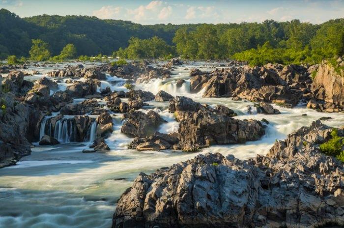 Great Falls Park in Virginia