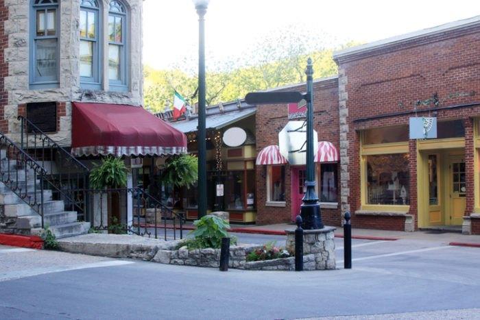 Eureka Springs Street Arkansas