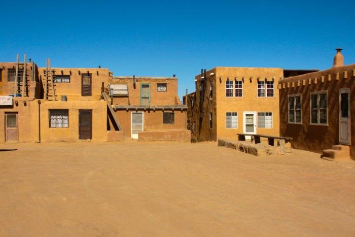 Acoma Pueblo Central Plaza New Mexico