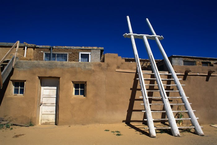 Acoma Pueblo Homes New Mexico