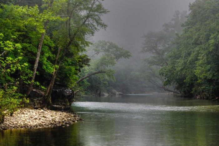 Ponca Buffalo National River Arkansas