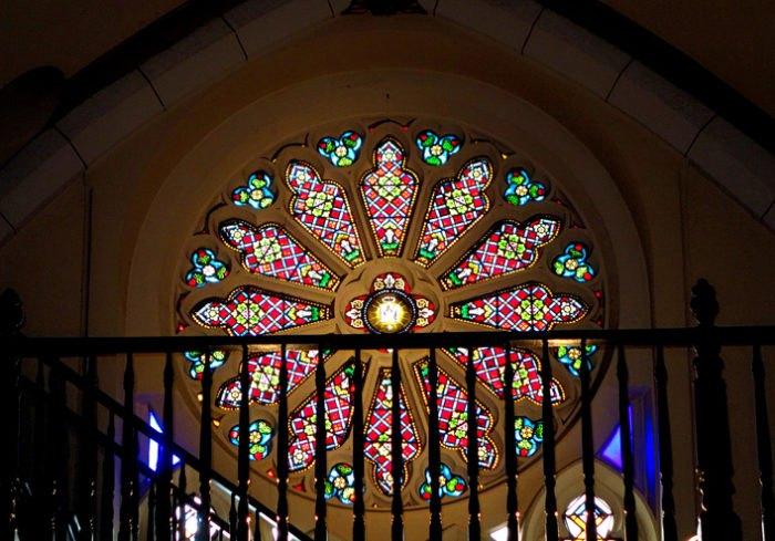 Loretto Chapel Rose Window NM
