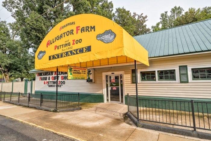 Arkansas Alligator Farm Entrance Arkansas