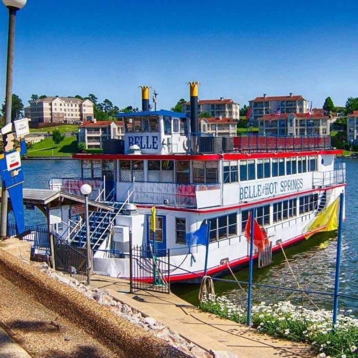 Belle of Hot Springs Riverboat Arkansas