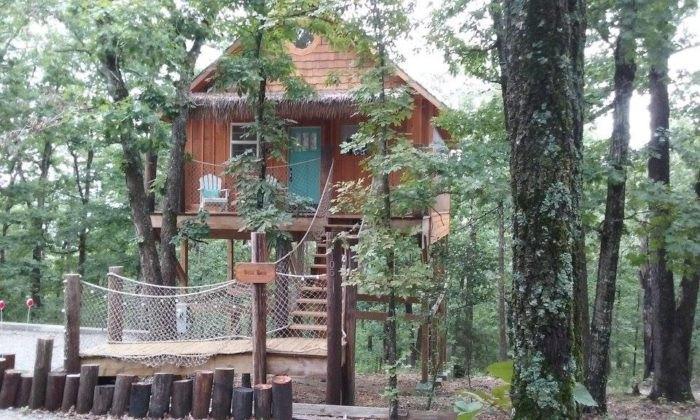 Briar Rose Enchanted Treehouses Arkansas
