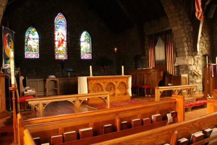 Grace Episcopal Church Interior North Carolina