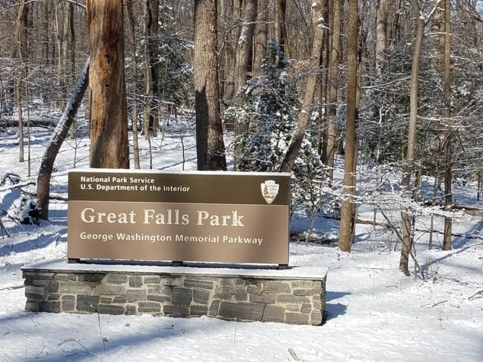 Great Falls Park Sign Virginia