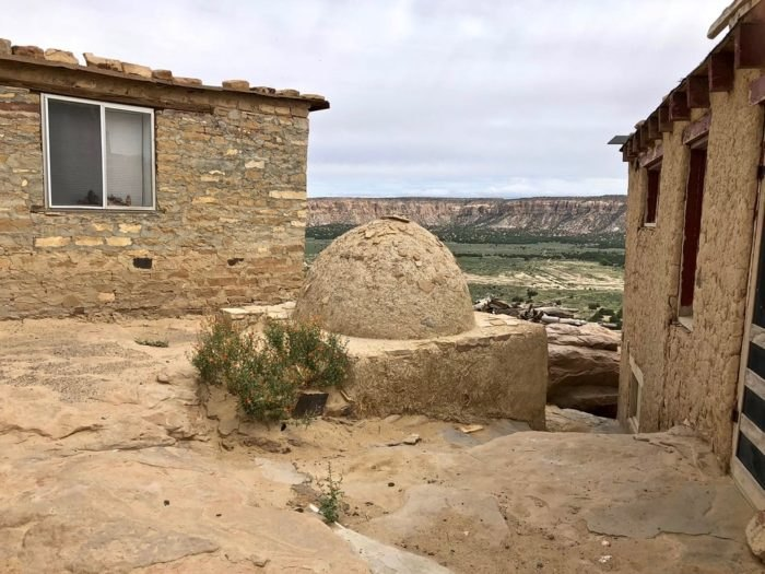 Acoma Pueblo Houses and Oven New Mexico
