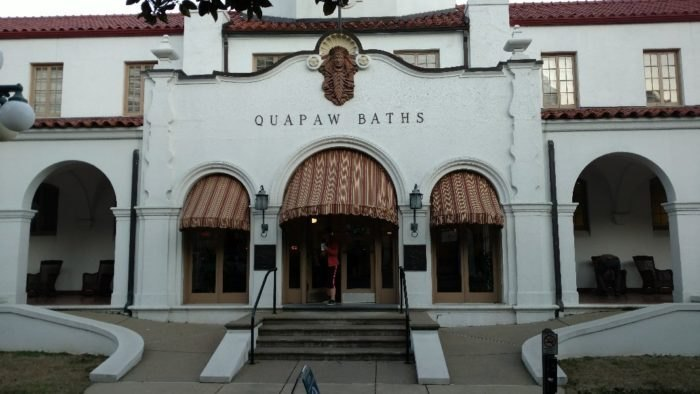 Hot Springs National Park Bathhouse Row Arkansas
